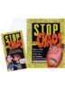 Stop the Chaos DVD and Workbook Set The <i>Stop the Chaos</i> workbook and DVD offer a straightforward, practical, and effective explanation of addiction and guide to recovery. For anyone who needs to understand alcohol and other drug addiction.