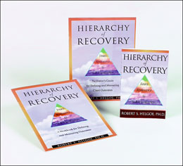 Hierarchy of Recovery Collection A scholarly and engaging discussion of recovery from addiction, based on Abraham Maslow's hierarchy of needs and created by leading treatment provider, Robert Helgoe, Ph.D.