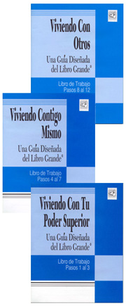 Spanish The Big Book Workbooks Set Reinforce important points in the Big Book through this set of three workbooks that offer clear discussions of each Step and probing questions in Spanish.
