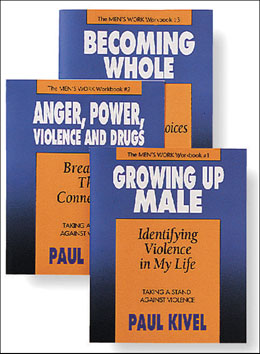 Men's Work Workbook Set Three powerful workbooks that allow clients to personalize how and why they have been violent and how they can become capable of controlling their anger. <i>Men's Work</i> helps clients develop alternative to violence.