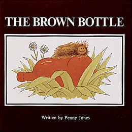 The Brown Bottle An excellent storybook for explaining alcoholism to young children, the Brown Bottle features Charlie, a fuzzy brown caterpillar who pursues the invigorating glow of life inside a discarded brown bottle.
