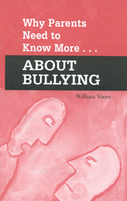Why Parents Need to Know More About Bullying Pkg of 30 An ideal handout for parent's night, this pamphlet gives parents immediate insight into the origins of bullying, as well as information on how to recognize and address it.  Here it is offered in a pack of thirty.