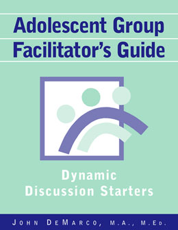 Adolescent Group Facilitator's Guide Jumpstart adolescent group discussions with this guide of more than 500 questions that engage teens to start talking about everything from substance abuse to marriage.