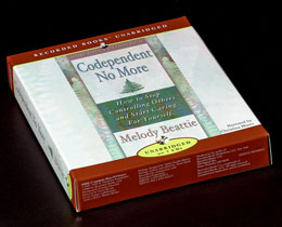 "Codependent No More 7 CD Set Dr. Drew Pinsky called <i>Codependent No More</i> the ""grandaddy of addiction tomes."" Enjoy Melody Beattie's best-selling classic on codependency on audio."