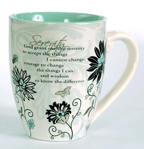 Hazelden Store Serenity Prayer Mug
