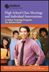 Class Meetings and Individual Interventions for High School DVD USB An ideal training component for high schools implementing the Olweus Bullying Prevention Program, this video resource for teachers and staff demonstrates how to hold successful class meetings,  intervene when bullying occurs, and engage the whole school community in bullying prevention efforts.