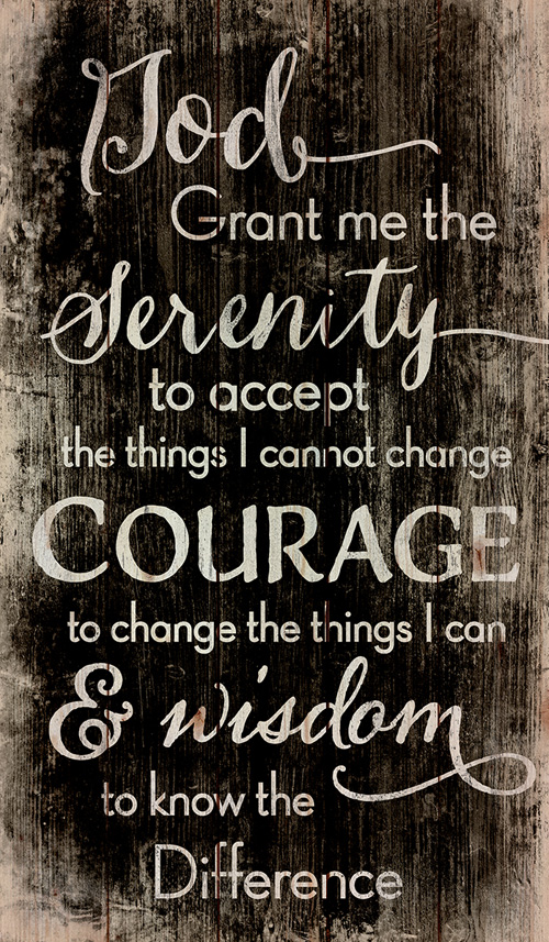 Zoom Image Wall Plaque Serenity Prayer