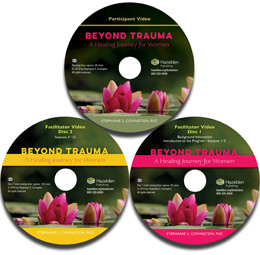 "Beyond Trauma DVD Part of the Beyond Trauma: A Healing Journey for Women evidence-based program, the facilitator and client videos provide education for both those leading and participating in sessions. Click on ""SHOW MORE"" to learn more, download the program Scope and Sequence and a sample chapter."