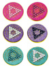 "Anniversary Glitter Painted Crystallized Medallions (Special Order) <br/><b>*Special Shipping. See full description for details.</b><br/>These glittery and crystalilzed anniversary medallions feature the time-honored Twelve Step program phrase ""To Thine Own Self Be True,"" with the date and ""Unity, Service, Recovery"" on one side, and the Serenity prayer on the other.<br/>"