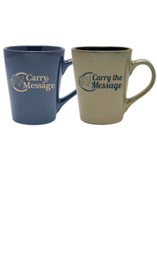Carry The Message Mugs
