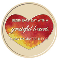 Grateful Heart Medallion