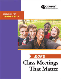More Class Meetings That Matter 9-12