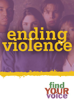 Ending Violence Find Your Voice