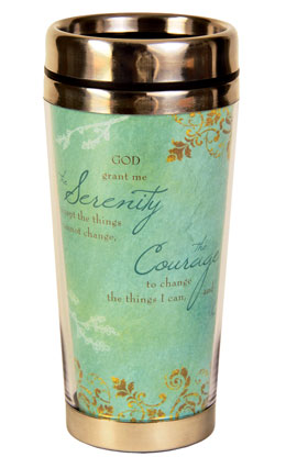 Serenity Prayer Travel Mug
