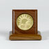 Medallion Holder Single Walnut Block Keep your favorite medallion in this holder crafted of solid walnut.