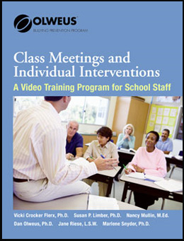 Class Meetings and Individual Intervention DVD Set