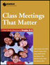 Class Meetings That Matter K-5 A core component of the award-winning <i>Olweus Bully Prevention Program, Class Meetings That Matter</i> provides attention-getting meeting topics regarding bullying.