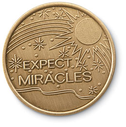 Expect Miracles Medallion