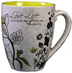 Love Life Bistro Mug <p>Love Life 16 oz. Bistro Mug in cream and lime.