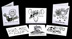 Edgy Comic Relief Recovery Cards Set of 8 <p>Edgy Comic Relief Recovery Cards, Set of 8 black and white cards with envelopes