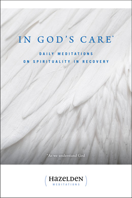"In God's Care <P><I>In God's Care </I>guides readers in understanding and strengthening their connection with a Higher Power, however they choose to define that presence. With the inspiration and support unique to Hazelden meditation books, <I>In God's Care </I>offers encouragement and guidance for ""practicing the presence of God"" in daily life."