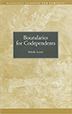 Boundaries For Codependents This pamphlet offers meaningful insight on how to build healthy boundaries