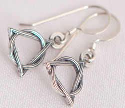 Sterling Silver AA Earrings