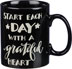 Grateful Heart Mug Many of us have found the key to happiness is to start each day with a grateful heart—and of course a mug of coffee. Microwave, oven and dishwasher safe.