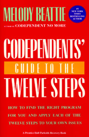 Codependent's Guide to the Twelve Steps Melody Beattie, the best-selling author of Codependent No More, interprets the Twelve Steps for people involved in codependent, unsatisfying relationships.