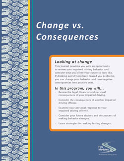 Flex Modules Change vs. Consequences Journal, Pkg. of 25