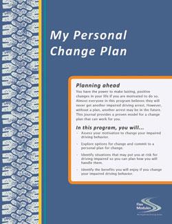 Flex Modules My Personal Change Plan Journal, Pkg. of 25