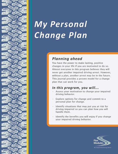 flex modules my personal change plan journal pkg of 25 hazelden