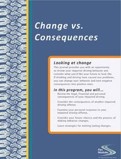 Spanish Flex Modules Change vs. Consequences Journal, Pkg. of 25
