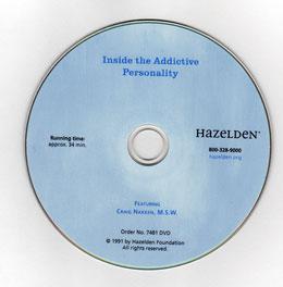 Hazelden Store: Inside the Addictive Personality DVD