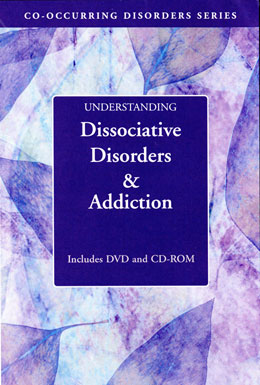 Understanding Dissociative Disorders and Addiction DVD/CD-ROM Part of Hazelden's popular Co-occurring Disorders Series, the<i> Understanding Dissociative  Disorders and Addiction</i> collection explores the cause of dissociative disorders, the role of medication, the prognosis for recovery, and coping strategies that can lead to a fuller, more integrated life. Includes a pamphlet for family members.