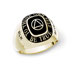Men's Recovery Celebration Ring 10K Gold Here is a lasting keepsake of your recovery. Customized 10k gold ring with recovery symbol is set in your stone choice.