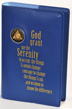 Big Book Royal Blue Vinyl Cover with Serenity Prayer Bookcover designed to fit  hard cover big book of alcoholics anonymous