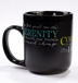 Serenity Prayer Ceramic Mug Morning encouragement comes in 16 ounces with this handsome Serenity Prayer ceramic mug!