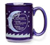 Serenity Prayer Mug We can get a taste of serenity each time we use this mug. The classic Serenity Prayer wraps around a deep sapphire blue ceramic mug.