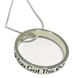 You Got This Blessing Circle </br>Wear this sterling silver necklace proudly, to show yourself and the world that whatever it is, you got this.</br>