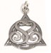 Heart Sponsor/Sponsee Pendant </br>This sterling silver AA pendant with intertwining S symbols represents the bond of trust and compassion between sponsor and sponsee.</br>