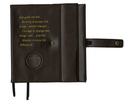 Big Book Double Vinyl Book Cover Brown
