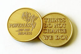 Powerless but not Helpless Medallion