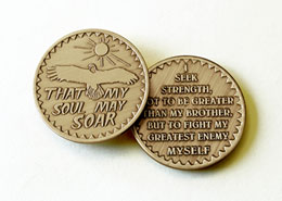 That My Soul May Soar Medallion