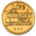 Life Is a Journey Medallion <br/>Life is a Journey, not a destination, and the reverse side say's, Spiritual and emotional growth is not a journey of a thousand days or a journey of a lifetime....<br/>