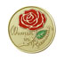 Women In Recovery Rainbow Medallion <br/>One side features a hand-painted rose. The other side has the serenity prayer.<br/>