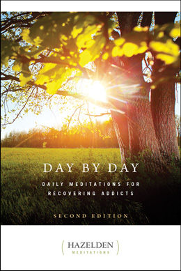 "eBook Day by Day Second Edition <p><img border=""0"" src=""http://www.hazelden.org/web/public/image/ebookicon.jpg""  align=""left"" alt=""Hazelden eBook available""><a href=""http://www.amazon.com/gp/product/B00BS02BIK/ref=as_li_qf_sp_asin_tl?ie=UTF8&camp=1789&creative=9325&creativeASIN=B00BS02BIK&linkCode=as2&tag=hazeldbookst-20"">Buy your Kindle eBook from Amazon</a><BR><a href=""http://store.kobobooks.com/en-US/ebook/day-by-day-6"">Buy your kobo eBook</a><br><a href=""http://search.barnesandnoble.com/booksearch/isbninquiry.asp?isbn=9781592857623&z=y&cds2Pid=9481"">Buy your eBook formats from Barnes and Noble</a><br><a href=""https://itunes.apple.com/us/book/day-by-day/id616116315?mt=11"">Buy your iBook at iTunes.</a>