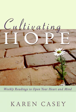 "eBook Cultivating Hope <p><img border=""0"" src=""http://www.hazelden.org/web/public/image/ebookicon.jpg""  align=""left"" alt=""Hazelden eBook available""><a href=""http://www.amazon.com/gp/product/B00BS02BY4/ref=as_li_qf_sp_asin_tl?ie=UTF8&camp=1789&creative=9325&creativeASIN=B00BS02BY4&linkCode=as2&tag=hazeldbookst-20"">Buy your Kindle eBook from Amazon</a><BR><a href=""http://store.kobobooks.com/en-US/ebook/cultivating-hope"">Buy your kobo eBook</a><br><a href=""http://search.barnesandnoble.com/booksearch/isbnInquiry.asp?isbn=159285866X&itm=2"">Buy your Barnes and Noble eBooks for iPhone, iPod, PC, or Mac</a><br><a href=""https://itunes.apple.com/us/book/cultivating-hope/id616125289?mt=11"">Buy your iBook at iTunes</a>  <p>Best-selling author Karen Casey offers a yearlong program to guide us in opening ourselves to the awesome power of hope."
