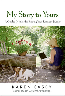 eBook My Story to Yours <br/>In this beautifully written guided memoir, best-selling author Karen Casey invites us to write down our stories while engaging in hers.