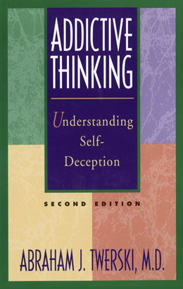 "eBook Addictive Thinking Second Edition <br/>Learn to recognize addictive thinking -- the abnormal thinking in addiction  originally recognized by members of Alcoholics Anonymous, who coined the term ""stinking thinking."" Abraham Twerski reveals how self-deceptive thought can undermine self-esteem and threaten the sobriety of a recovering individual.<br/>"